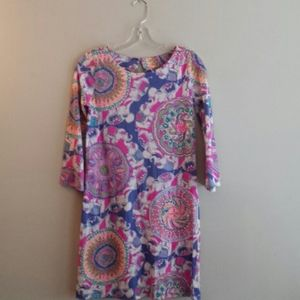 Lilly Pulitzer Woman's Long Sleeve Dress Size XS